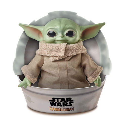 Star Wars Baby Yoda Soft Figure - The Mandalorian