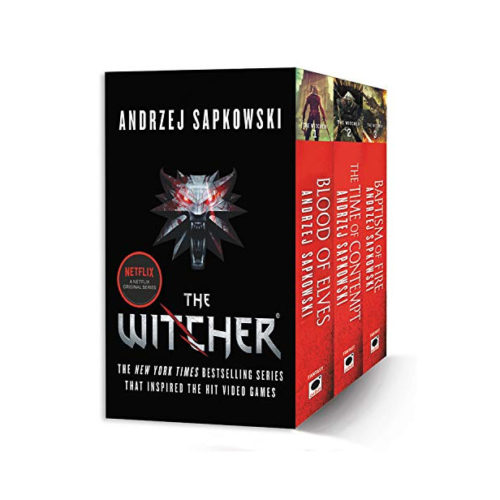 The Witcher Books Boxed Set: Blood of Elves, The Time of Contempt, Baptism of Fire