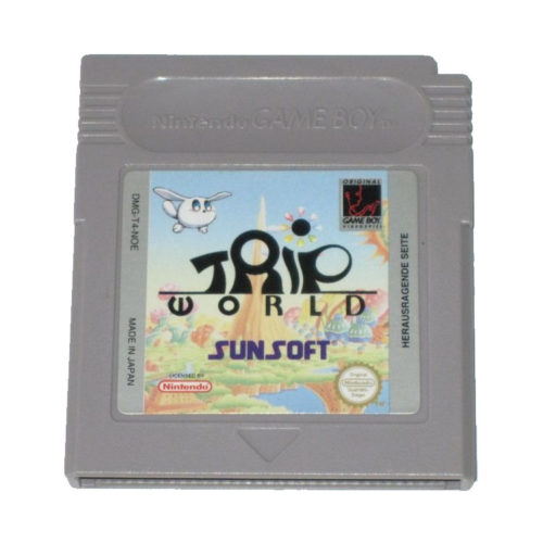 Gameboy Games: Trip World Cartridge by Sunsoft Games