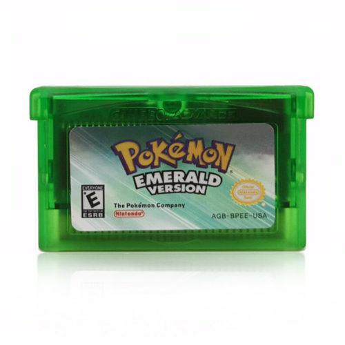 Game Boy Advance Pokemon Emerald GBA Game