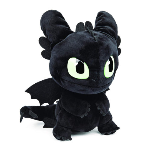 How to Train Your Dragon Squeeze & Roar Toothless Plush Toy