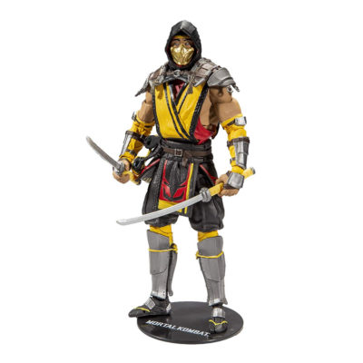 Mortal Kombat Scorpion Action Figure by McFarlane Toys