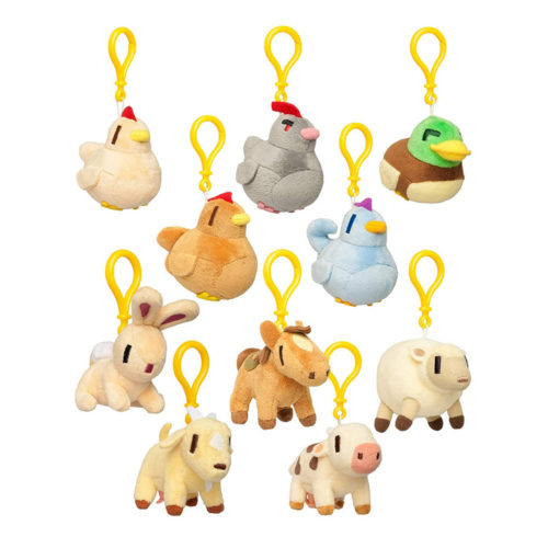 Stardew Valley Officially Licensed Animal Hanger Plushes