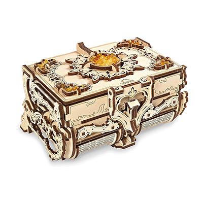 3D Wooden Puzzle Box