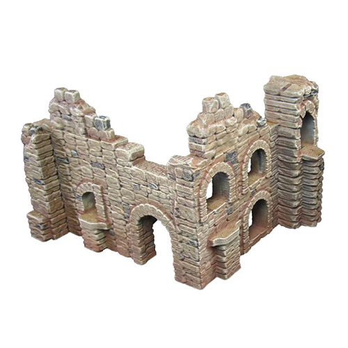 Battle Ruined Walls Terrain Scenery