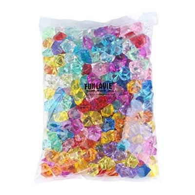 Multi-Colored Acrylic Diamonds