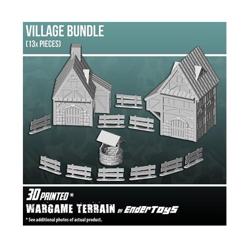 Village Bundle Terrain Scenery for Tabletop