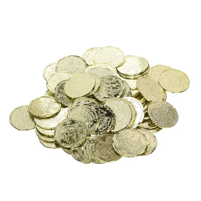 Gold coin props