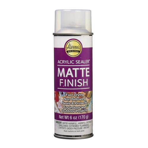 Spray Matte Finish 6oz Acrylic Sealer