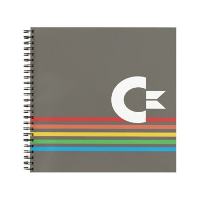 Commodore 64 Inspired Retro-Tech Notebook