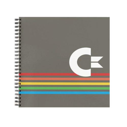 Commodore 64 Inspired Retro-Tech Notebook