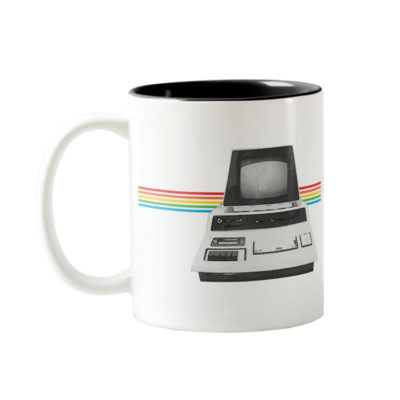 Commodore PET 2001 Series Watercolor Two-Tone Coffee Mug