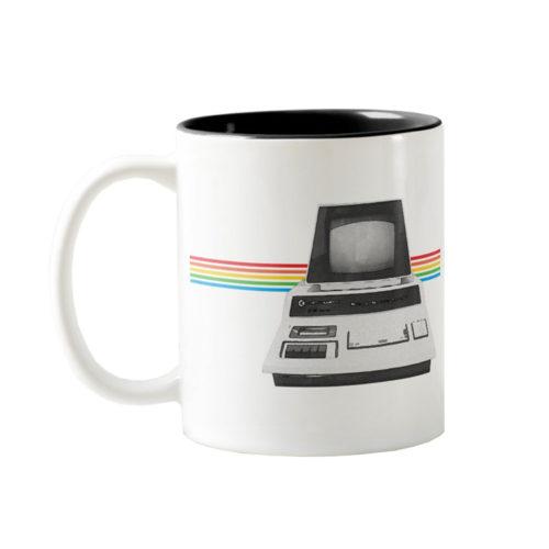 Commodore PET 2001 Series Watercolor Two-Tone Coffee Mug