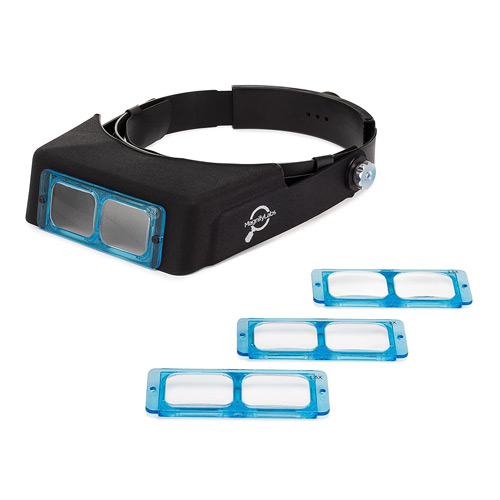 Magnifying Visor with 4 Optical Lens Plates
