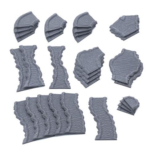 3D Printed Tabletop RPG Scenery and Wargame Terrain