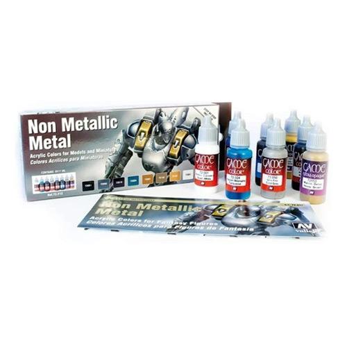 Vallejo Non Metallic Metal Colors
