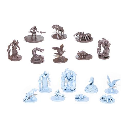 40 Wild Creatures Unpainted Miniatures