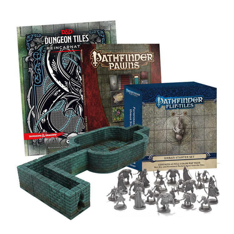 RPG Modular Systems, Tile Sets and Scenario Pieces for Dungeon Masters