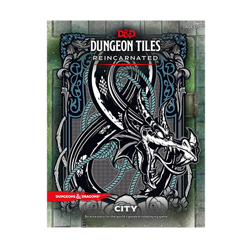 Dungeons & Dragons Dungeon Tiles Reincarnated The City