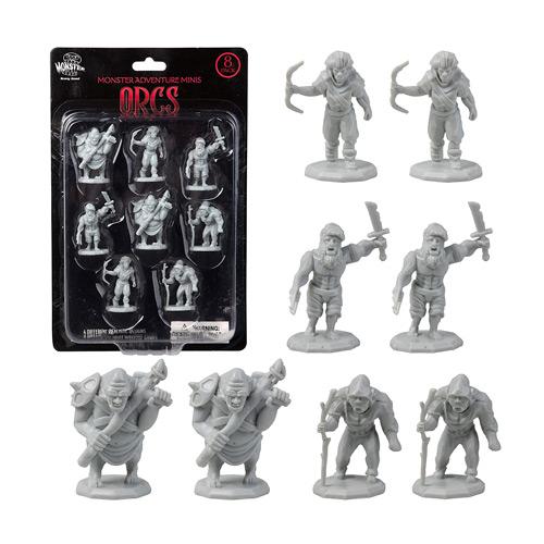 Monster Protectors DND Miniatures- Orc Mini Figures