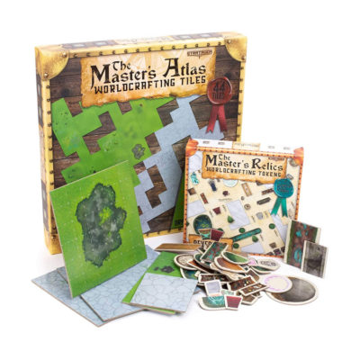 RPG Dungeon Master Worldcrafting Atlas Starter Kit