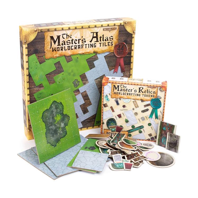 RPG Dungeon Master Worldcrafting Atlas Starter Kit