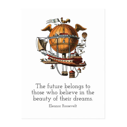 Images of the Future-Past Eleanor Roosevelt Poster