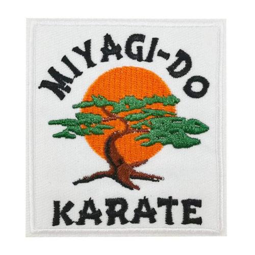 Miyagi-Do Karate Bonsai Tree Embroidered Iron on sew on Patch