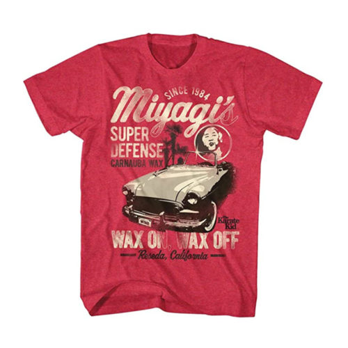Karate Kid Miyagi Wax On Off T-Shirt