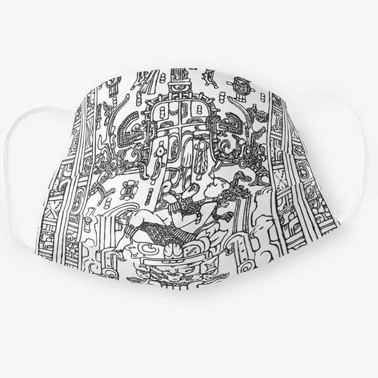 COVID 19 Masks: Aztec