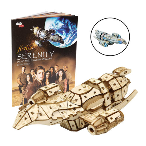 Firefly Serenity Book & Wood Model Figure Kit