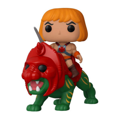 Masters of The Universe He-Man on Battle Cat Funko Pop!