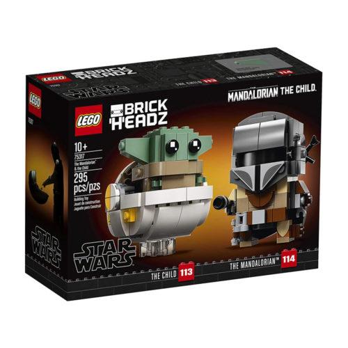 Star Wars The Mandalorian & The Child LEGO BrickHeadz