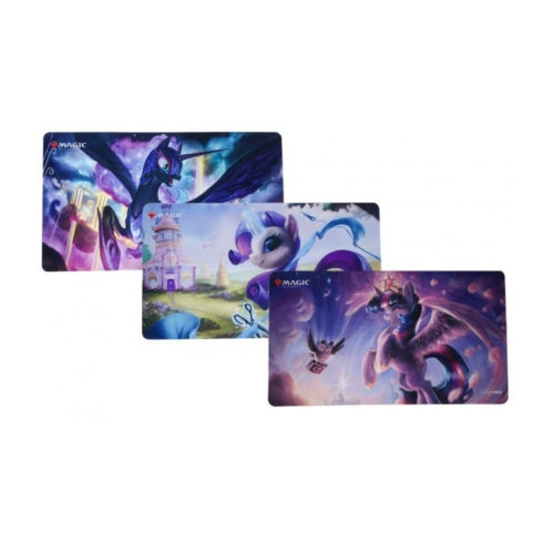 Ponies the Galloping: My Little Pony + Magic the Gathering Playmats