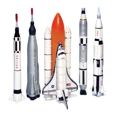 5 Piece Space Program NASA Collector's Set