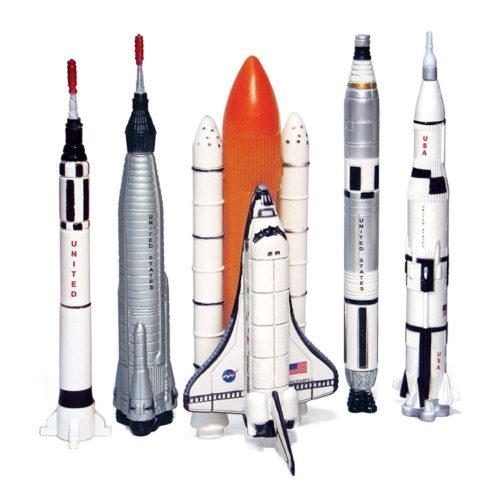 5 Piece Space Program NASA Collector's Set