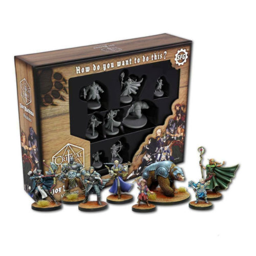 Critical Role Miniatures Vox Machina 8 Figures