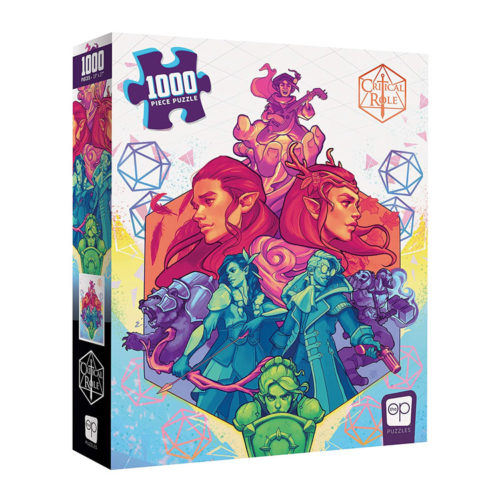 Critical Role Vox Machina 1000 Piece Jigsaw Puzzle