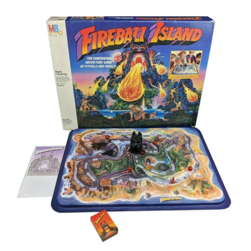 1986 Fireball Island Board Game