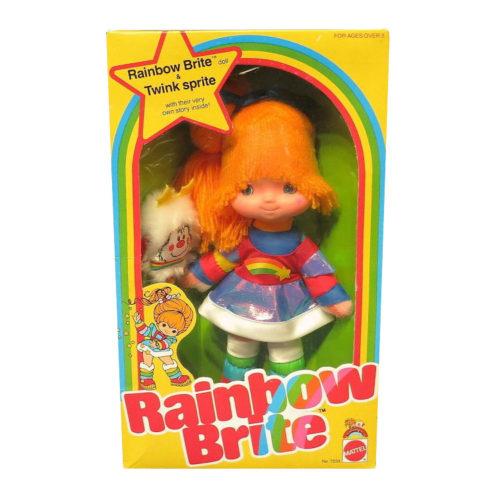 Vintage Rainbow Brite Doll 1983