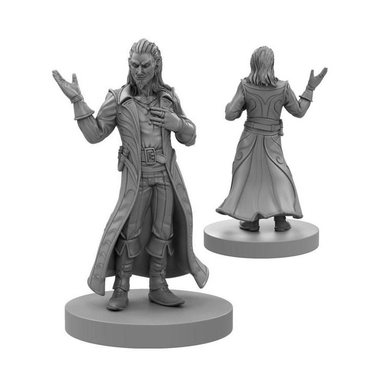 Critical Role: The Gentleman Miniature by Steamforged