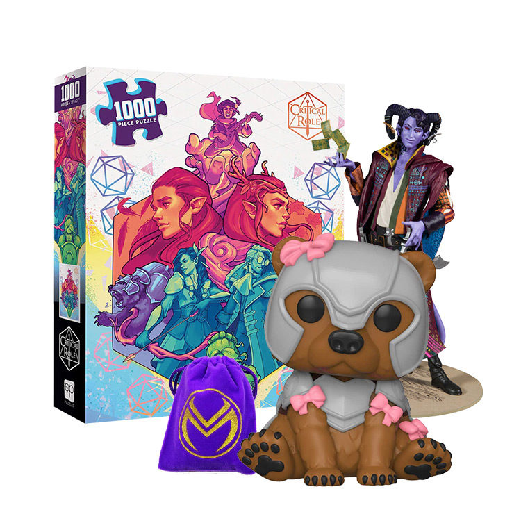 Critical Role Gift ideas for Vox Machina and Mighty Nein Critters