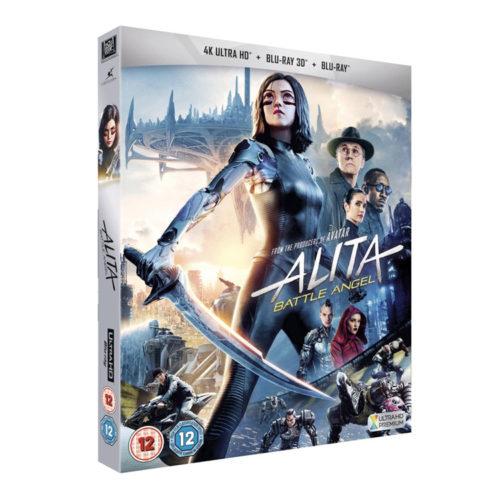 Alita: Battle Angel 4K Ultra HD + Blu Ray + Extras