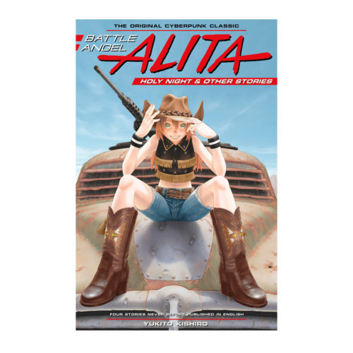 Battle Angel Alita Original Manga Deluxe Holy Night and Other Stories