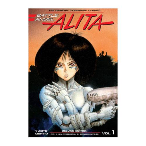 Battle Angel Alita Original Manga Deluxe Vol. 1-2