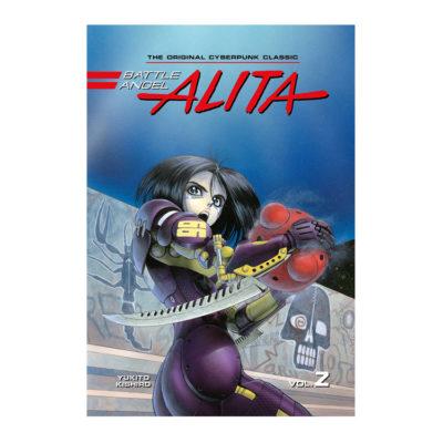 Battle Angel Alita Original Manga Deluxe 2 - Volumes 3-4