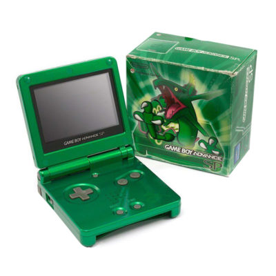 Nintendo Gameboy Advance SP: Limited Edition Rayquaza