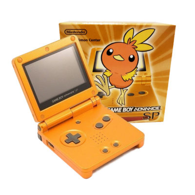 Gameboy Advance SP: Limited Edition Torchic