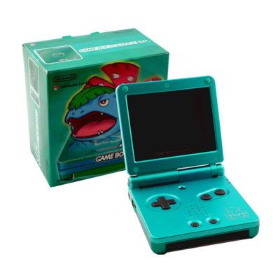 Nintendo Gameboy Advance SP: Limited Edition Venusaur