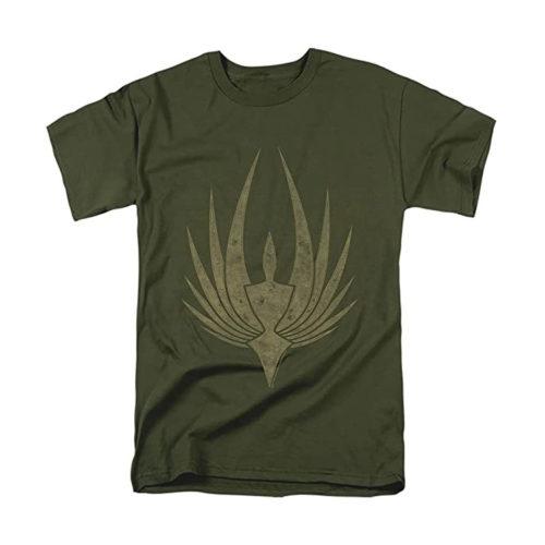 Battlestar Galactica Phoenix T-Shirt and Stickers